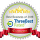 ThreeBest Rated Award - Best Business of 2018 | FD Beck
