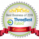 ThreeBest Rated Award 2 - Best Business of 2019 | FD Beck
